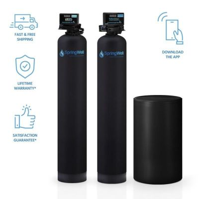 Springwell Well Water Filter and Salt Based Water Softener