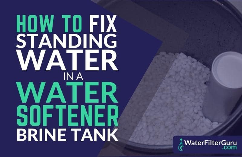 how to fix water softener not draining